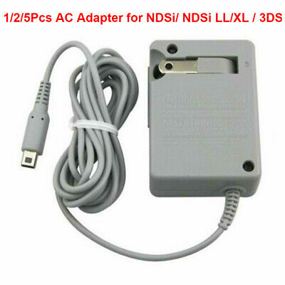 USA For Nintendo DSi NDSi 3DS XL AC Home Wall Travel Charger Power Adapter Cord