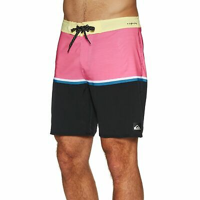 35e0c8967c Quiksilver Highline Division 18in Mens Shorts Boardshorts - Yellow Iris