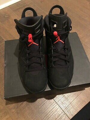 "eb2ad2291bd4 NEW AIR JORDAN 6 ""Black Infrared"" SIZE 11 (2019) -  177.00"