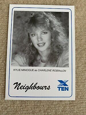 1989 Star PR Card Network 10 NEIGHBOURS - Kylie Minogue As CHARLENE ROBINSON