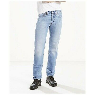 Levi's 501 Men's Cool performance Straight Leg Button Fly Jeans Size: 31 x 32