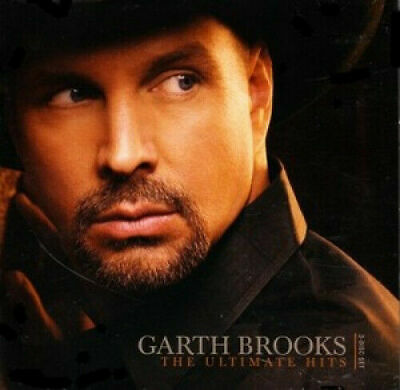 GARTH BROOKS The Ultimate Hits 2CD & DVD *PAL* R0 BRAND NEW Best Of Greatest