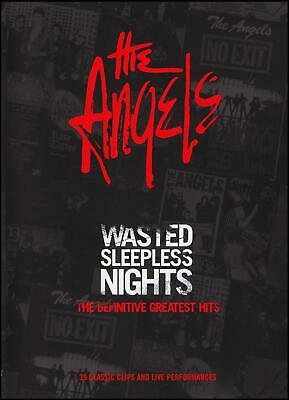 THE ANGELS Wasted Sleepless Nights The Definitive Greatest Hits DVD BRAND NEW R4