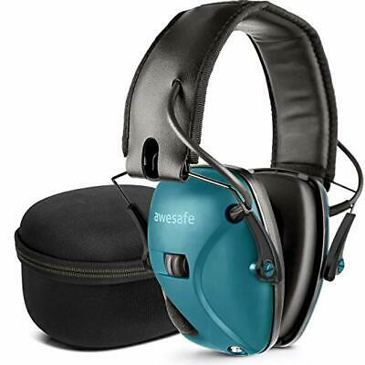 Casque de Tir Antibruit Electronique Awesafe GF01 Réduction Auditive Chasse NEUF