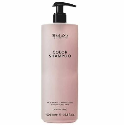 3deluxe Professional Color Shampoo 1000 Ml