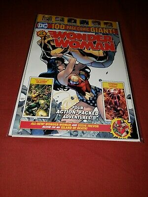 DC Comics WONDER WOMAN #2 WALMART EXCLUSIVE 100 Page GIANT! SOLD OUT!