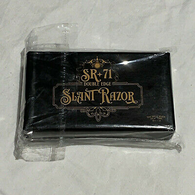 The Holy Black, SR-71 Slant Safety Razor, New In Retail Packaging