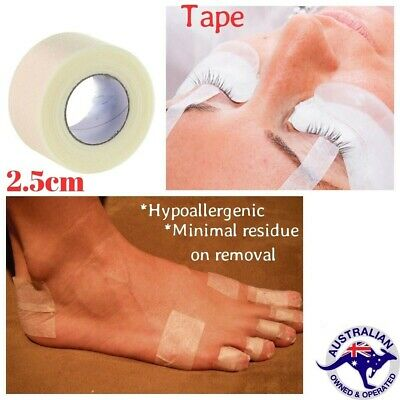 MICROPORE Surgical Tape 2.5cmx9.1 Paper Hypoallergenic Medical 5 or 10 rolls