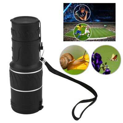 30x52 Day & Night Vision HD Optical Monocular Hunting Camping Hiking Telescope