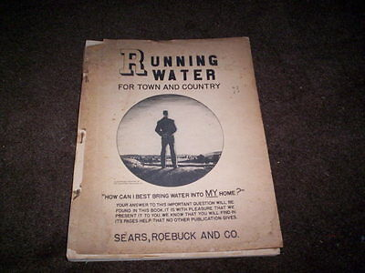 1940 Sears Roebuck & Co Running Water For Town And Country