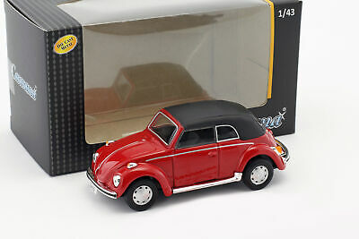 Volkswagen VW Escarabajo 1200 Convertible Soft Top Rojo 1:43