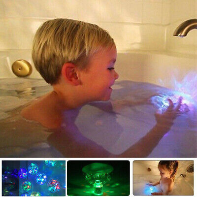 Bathroom Tub light Color Changing Toy Waterproof In Bath Toy Kids LED Light Toys