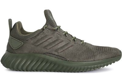 85b0890e0 New adidas CG4572 Alphabounce CR Mens Running Shoe (Olive Olive ) Suede Mens