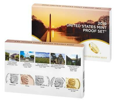 2019 United States Mint Proof Set (10 Coin Set), which includes ATB Quarters