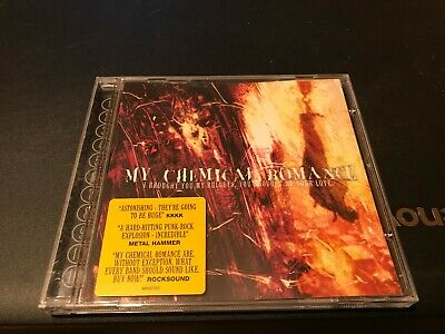MY CHEMICAL ROMANCE-i brought you my bullets/11 trax/ex con cd/2002