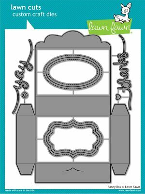 Lawn Fawn, lawn cuts/ Stanzschablone, fancy box