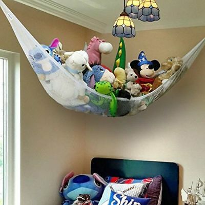 Extra Large Toy Mesh Teddy Hammock Soft Hanging Storage Net Baby Kids Bedroom UK