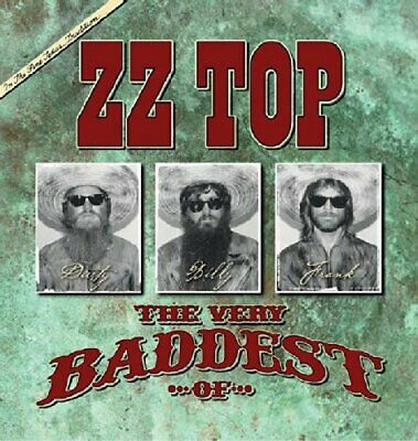 Very Baddest Of Zz Top 2 Disc Cd Released 2014 With 40 Total Tracks Greatest Hit
