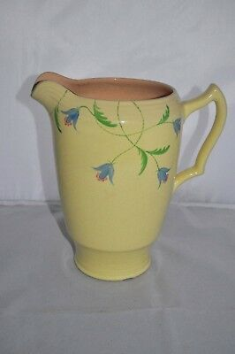 "George Clews & Co 8 ½"" Earthenware Jug"