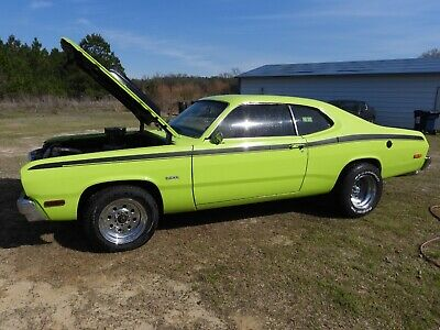 1974 Plymouth Duster  1974 Plymouth Duster 360 automatic strong engine