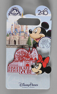 Disney Parks Disneyland Resort 2018 Attraction Character Pin Minnie Mouse NEW