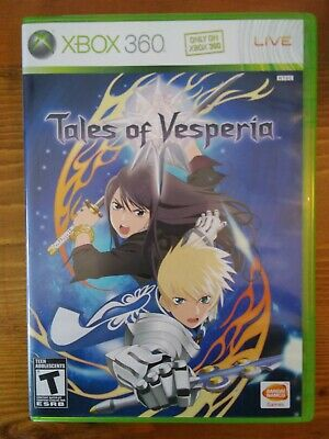 Tales of Vesperia - Xbox 360, 2008 - Complete CIB - Tested and Working