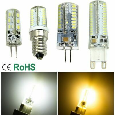 Gel Silice LED G4 G9 E14 Dimmable SMD LED Ampoule 3/5/6/7/9W chaud / blanc froid