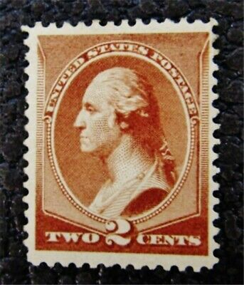 nystamps US Stamp # 210 Mint OG H $43