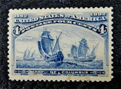 nystamps US Stamp # 233 Mint OG H $55