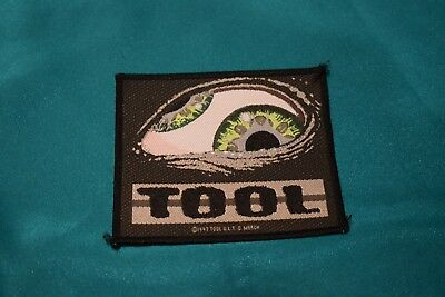 """Tool """"Eye"""" 1997 Official and Licensed Patch Korn A Perfect Circle Metal Grunge"""