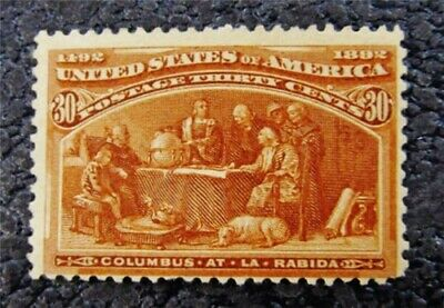 nystamps US Stamp # 239 Mint OG H $240