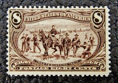 nystamps US Stamp # 289 Mint OG H $150
