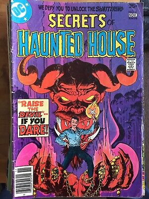SECRETS OF HAUNTED HOUSE #8 OCT.-NOV. 1977  DC Comics Bronze Age Horror