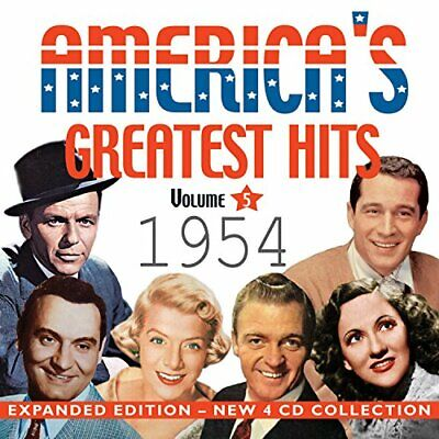 Various - Americas Greatest Hits 1954 CD (4) Acrobat NEW