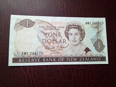 New Zealand -  Banknote 1 Dollar 1981-1992 -