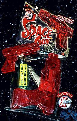 SPACE GUN 70er X RAY GUN SPARKING FRICTION > SPIELZEUG PISTOLE > SCIENCE FICTION