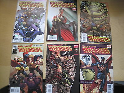 The LAST DEFENDERS : complete 4 ISSUE SERIES by CASEY, GIFFEN, MUNIZ.MARVEL.2008