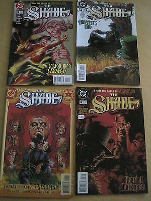 The SHADE : Complete 4 issue 1997 DC series by JAMES ROBINSON & GENE HA. STARMAN