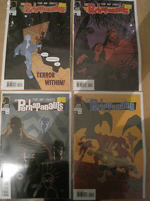 The PERHAPANAUTS : complete 4 issue series. #1 SIGNED by CRAIG. DARK HORSE. 2005