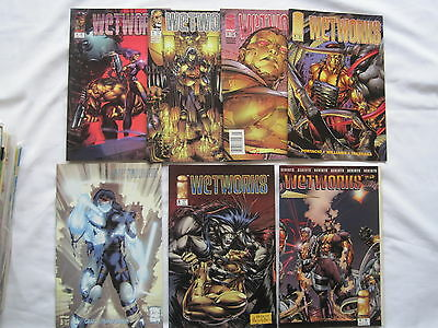 WETWORKS 1st SERIES  # s 1 - 7 COMPLETE by  PORTACIO,CHOI & WILLIAMS. IMAGE 1994
