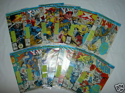 """X-Men """"X-Cutioner's Song"""": Complete 12 Issue Story +File.all Sealed,Trading Card"""