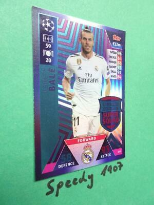 Topps Champions League 18 2019 limited Edition Bale  Squad Match Attax LE2