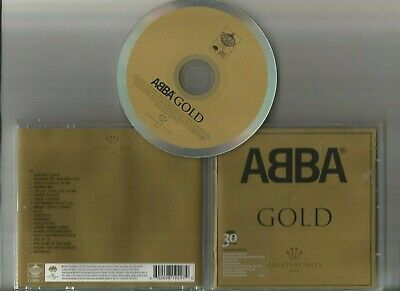 Abba Gold  Greatest Hits  ( Cd 1992 ) Gold Inlay