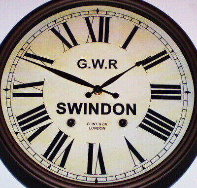 Great Western Railway GWR Victorian Style Clock, Swindon Station