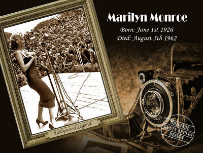 Marilyn Monroe:the  Golden  Age Of  Hollywood Legends Collection Metal Sign