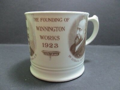 WINNINGTON WORKS , NORTHWICH - 50th ANNIVERSARY SOUVENIR MUG
