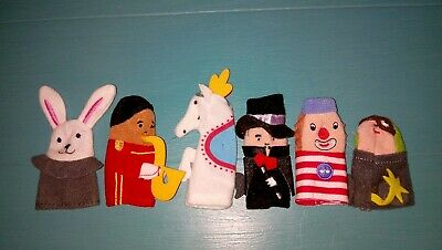 Nice Set Of Finger Puppets In Good Condition