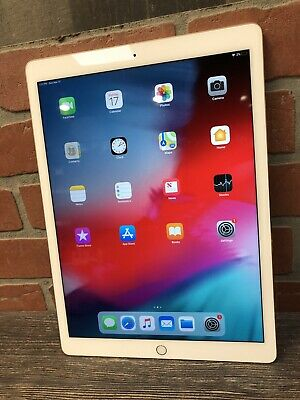 Apple iPad Pro  1st Gen. 128GB, Wi-Fi, 12.9in - Gold Has Engraving( Functional)