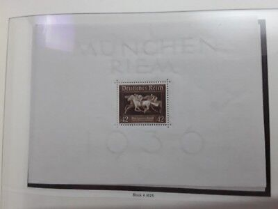 Reich 1936 Brown ribbon of Germany mnh
