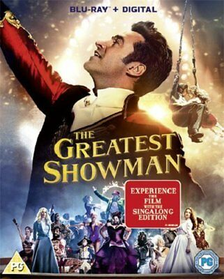 The Greatest Showman [Blu-ray + Digital Download] Movie Plus Sing-along NEW